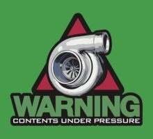 WARNING! contents under pressure (5) Kids Clothes
