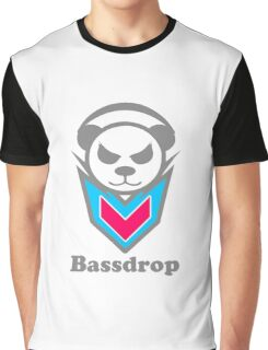 Panda Space Music Graphic T-Shirt