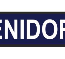 Benidorm Station Underground Sticker