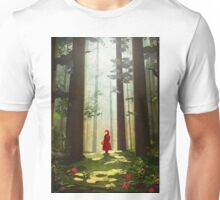 Little Red Riding Unisex T-Shirt