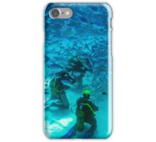Mobbed by Hungry Fish iPhone Case/Skin