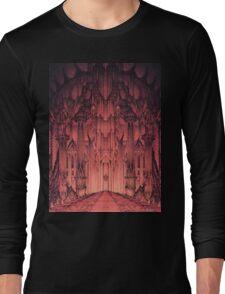 The Gates of Barad Dûr Long Sleeve T-Shirt