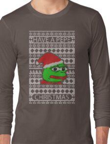 Pepe Christmas Long Sleeve T-Shirt