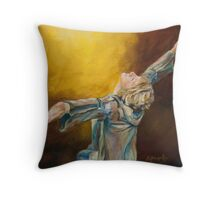 Total Abandon by Chris Brandley Throw Pillow