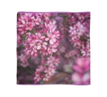 Pink Blossom flower petals Scarf
