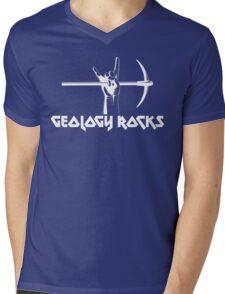 Geology Rocks Mens V-Neck T-Shirt