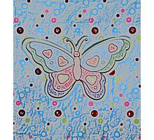 Happy Butterfly by Nikki Ellina Photographic Print