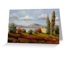 Along the Saint Lawrence River by Chris Brandley Greeting Card