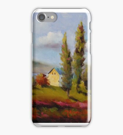Along the Saint Lawrence River by Chris Brandley iPhone Case/Skin