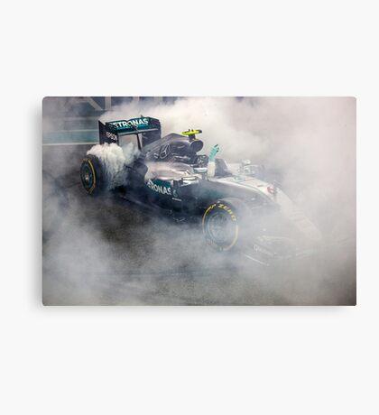 Nico Rosberg Mercedes formula 1 Champion 2016 Canvas Print