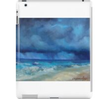 Caribbean Storm by Chris Brandley iPad Case/Skin