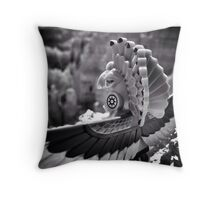 Old Pictures Throw Pillow