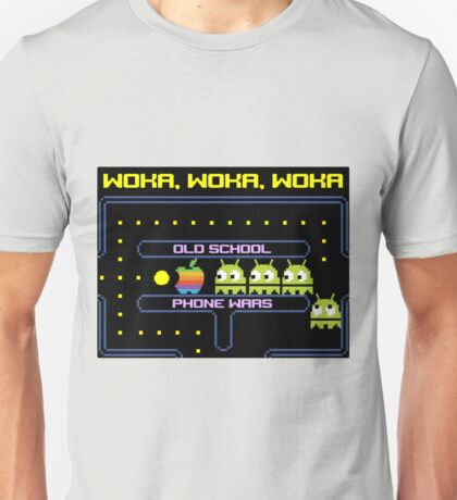 Old School Phone Wars Unisex T-Shirt