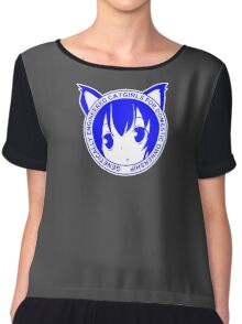 Genetically Engineered Catgirls for Domestic Ownership! Chiffon Top