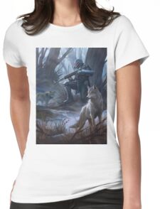 Jin roh Womens Fitted T-Shirt