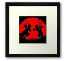 Naruto & Sasuke Framed Print
