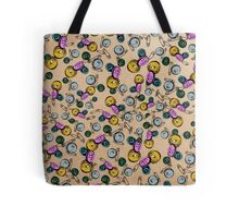 Bonkers Buttons Tote Bag