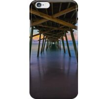 Bogue Inlet Pier at Dawn iPhone Case/Skin