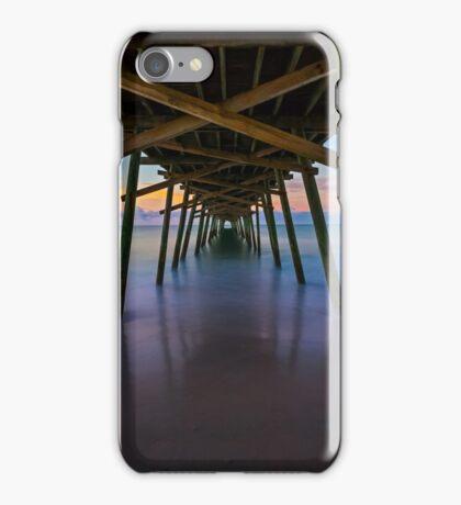 Bogue Inlet Pier at Dawn iPhone Case/Skin