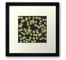 Fairy Lights Framed Print