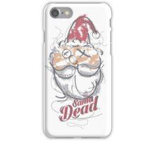 SANTA DEAD iPhone Case/Skin