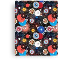 Abstract fantasy pattern Canvas Print
