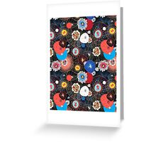 Abstract fantasy pattern Greeting Card