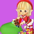 Santa's Little Elf by Susan S. Kline