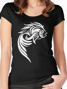 Fish Tatto Women's Fitted Scoop T-Shirt