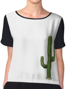 Lonely Cactus Chiffon Top