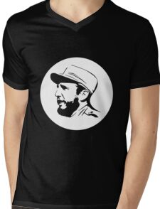 Fidel Castro Mens V-Neck T-Shirt