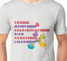 C M Ducks? Unisex T-Shirt