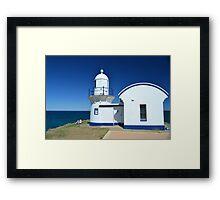Simply Blue & White Framed Print