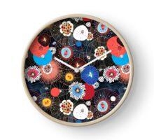 Abstract fantasy pattern Clock