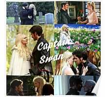 Captain swan collage  Poster