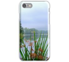 Lake and Reeds at Witley Court iPhone Case/Skin