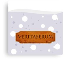 Veritaserum Potion - Harry Potter Canvas Print