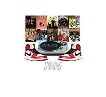 1984 Hip Hop & Jordans Photographic Print