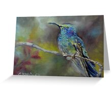 Jewels of Nature by Chris Brandley Greeting Card