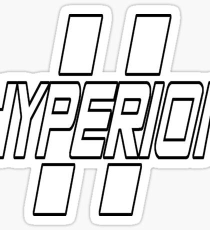 Hyperion Sticker