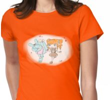 Lovely walk Womens Fitted T-Shirt