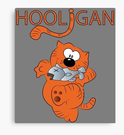 HOOLIGAN.  Canvas Print