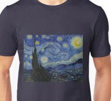 Vincent van Gogh Iconic Starry Night Unisex T-Shirt