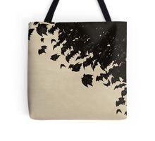 Bat swarm Tote Bag