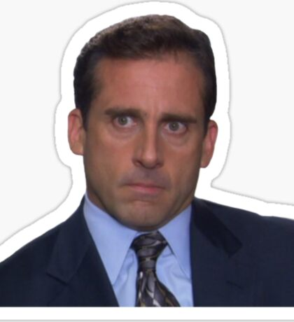 Michael Scott - Piercing Stare  Sticker