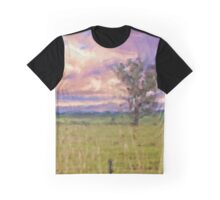 Rural Landscape (Redesdale, Victoria) Graphic T-Shirt