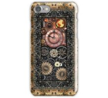 Infernal Steampunk Timepiece #2B Vintage Steampunk phone cases iPhone Case/Skin