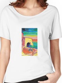 The red boat  Women's Relaxed Fit T-Shirt