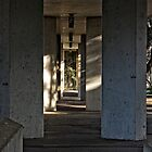 Walkway under a Footpath in Canberra/ACT/Australia by Wolf Sverak