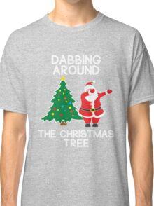 Dabbing Around the Christmas Tree - t-shirt Classic T-Shirt